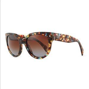 Prada Blue Tortoiseshell Sunglasses